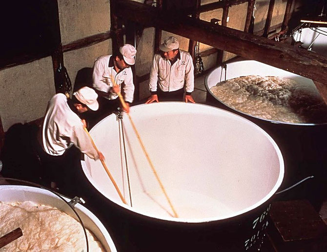 Sake brewery  Source: wikipedia