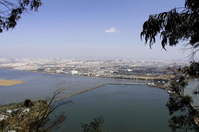 Dian See und Kunming