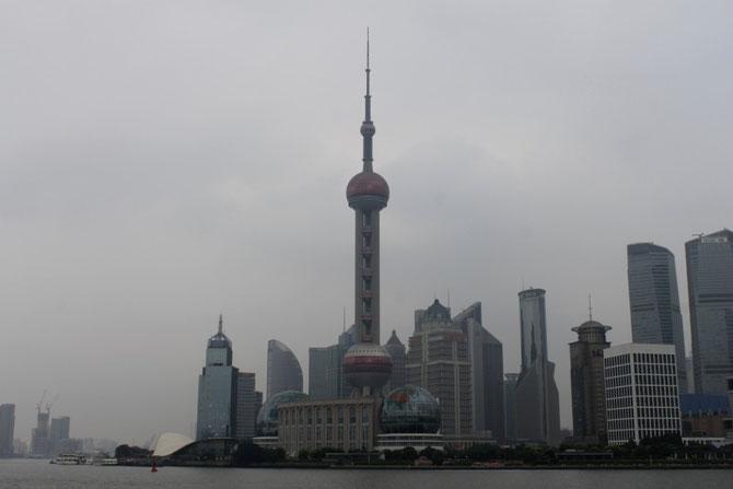 der Bund!!! Im Mittelpunkt der Oriental Pearl Tower