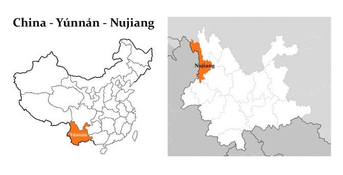 China - Provinz Yunnan - Präfektur Nujiang