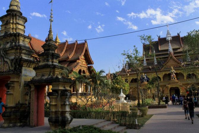 Tempelanlage im Manting-Park