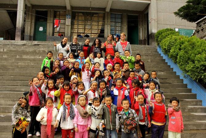 Schüler der Grundschule