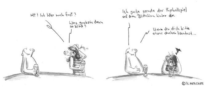 "Comic Tagträumer Nr. 26 ""Tischgespräch"""