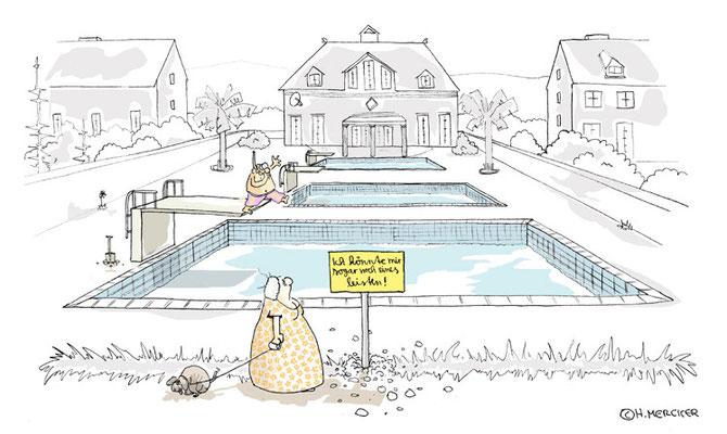 Cartoon:Was man sich als Reicher so leisten kann
