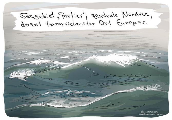 Tagesaktueller Cartoon von H. Mercker zum Thema Terror in Europa.