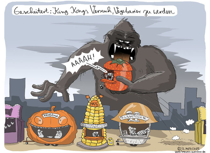 "Cartoon ""King Kong"""