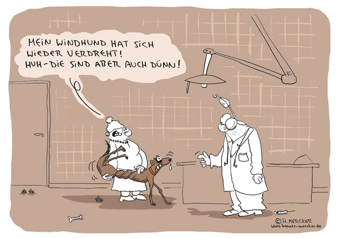 "Cartoon ""Verdreht"""