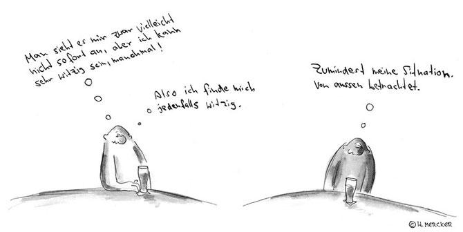 "Comic Tagträumer Nr. 14 ""Witz"""