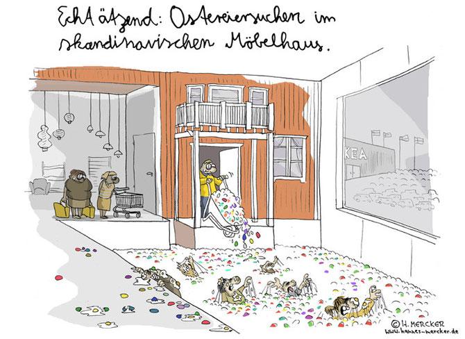 """Cartoon Die große Suche"""""""