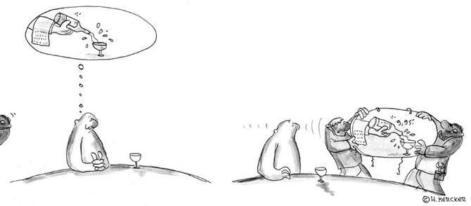 """Comic Tagträumer Nr. 27  """"Wunscherfüllung"""""""