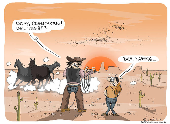 "Cartoon ""Cowboys"""