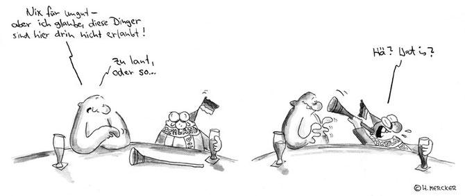"""Comic Tagträumer Nr. 22 """"Vuvuzela"""""""