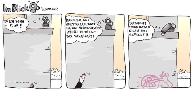 "Comic ""Im Blick 03"""