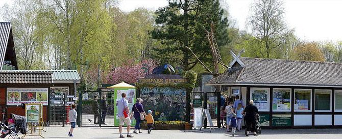 Zoo-Eingang