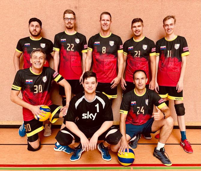 v.l.n.r.: Frank, Yannic, Andre, Lars, Tobi, Hendrik, Philipp