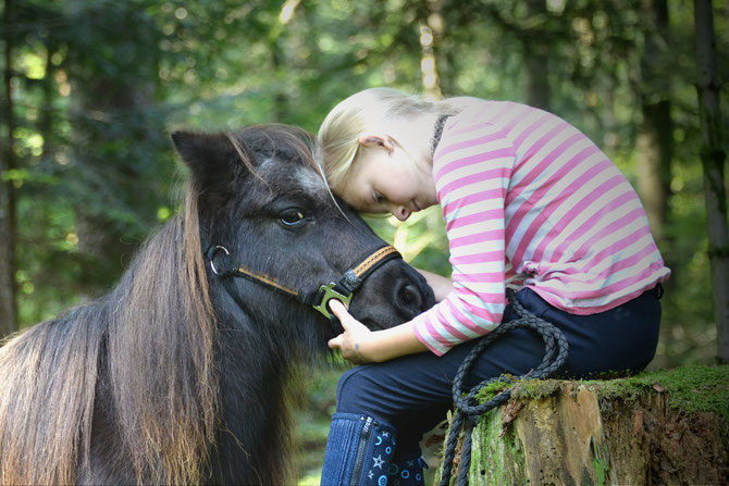 """My little Pony"" - Wochensieger Fotowettbewerb Bieler Tagblatt 2017"