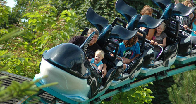 Orca Ride boudewijn Seapark