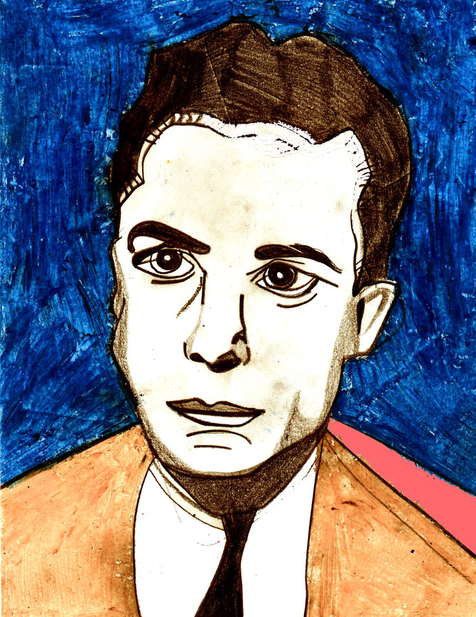 Albert Camus young (c) Miriam Gil