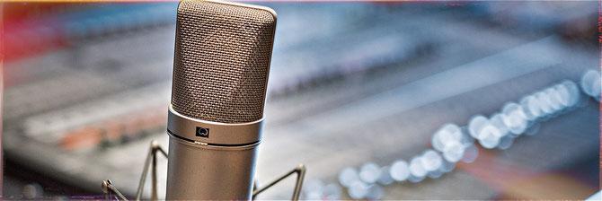 Verschiedene Behringer-Mikrofone zur Auswahl