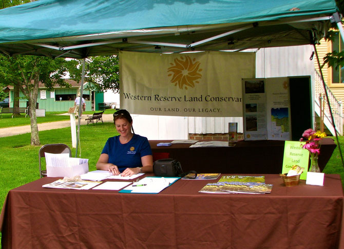 Western Reserve Land Conservancy Booth