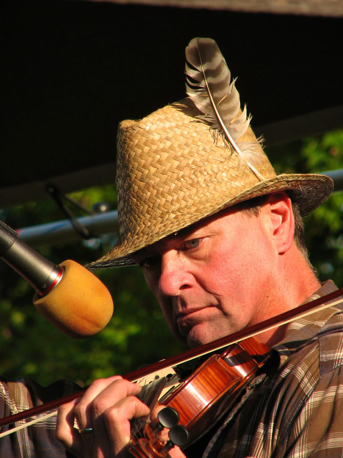 Bill Lestock -- Fiddle Contest Winner