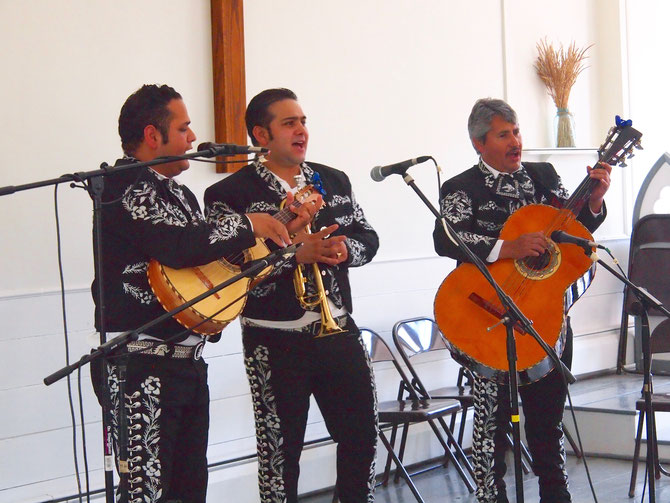 Mariachi Santa Cecilia -- Church Stage
