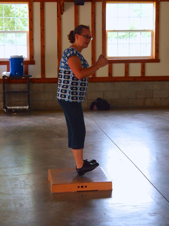 Laura Lewis Kovac --  Clogging Workshop