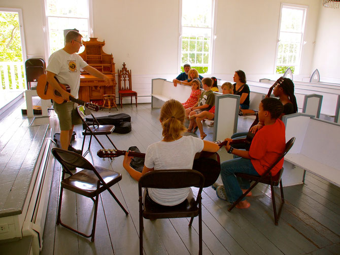 Kids' Guitar Workshop -- Roots of American Music