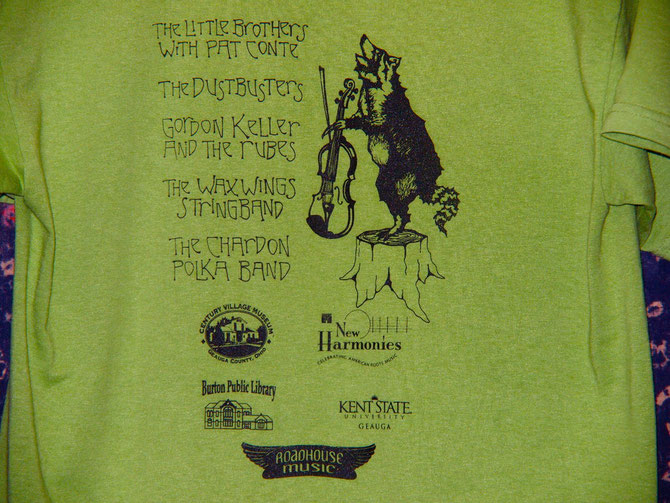 BACK OF 2011 T-SHIRT