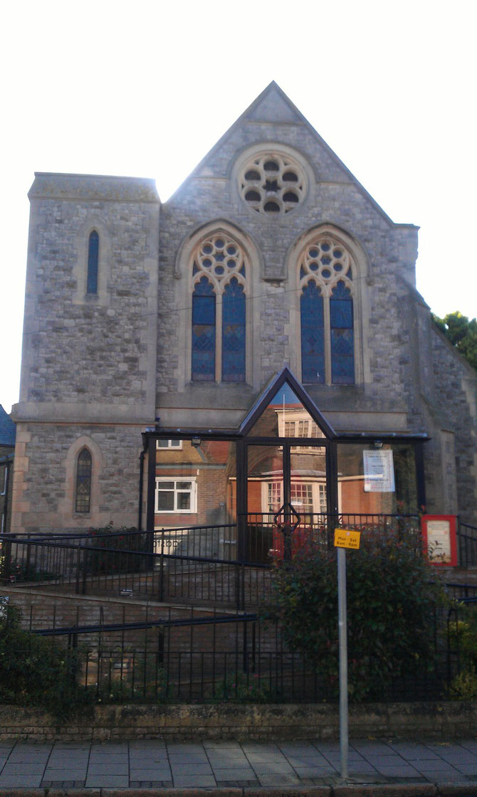 The Methodist Church, York Street, Broadstairs, with its stunning stained glass windows, is the venue for the Thursday class