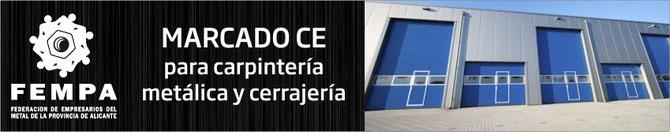 Marcado CE en Puertas Automáticas Alicante