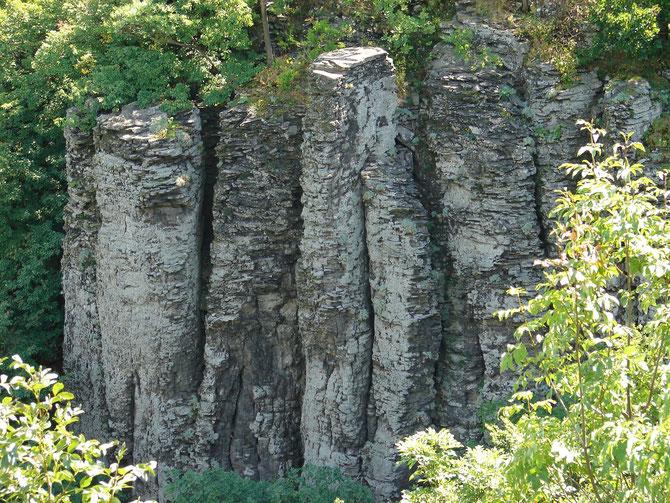 Badacsony, Ungarn, Basaltorgeln
