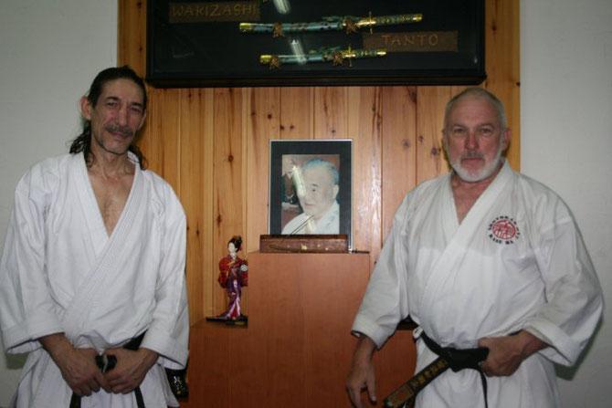 Con el Sensei Dirk Gandía