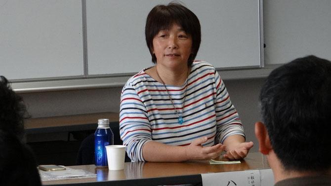 女川町「ゆめハウス」主宰者 八木純子さんの講演