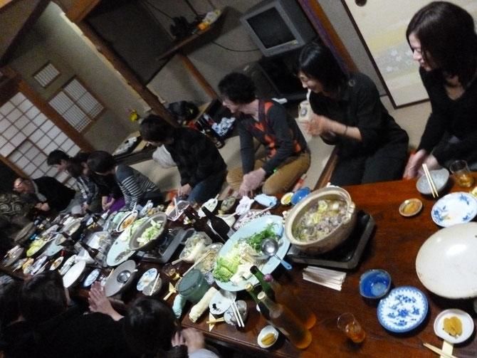 イノシシ・・美味しい~ 食べて飲んで♫