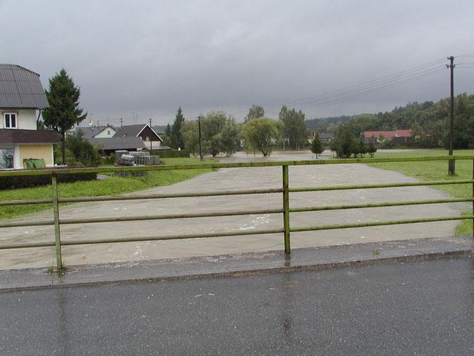 Hochwasser 2002 - Voglmeir-Brücke