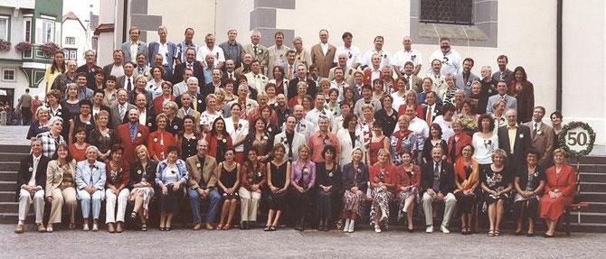 50er-Jahrgänger / Gruppenbild  .  .  .  .  .   (Foto: C. Hoffmann)