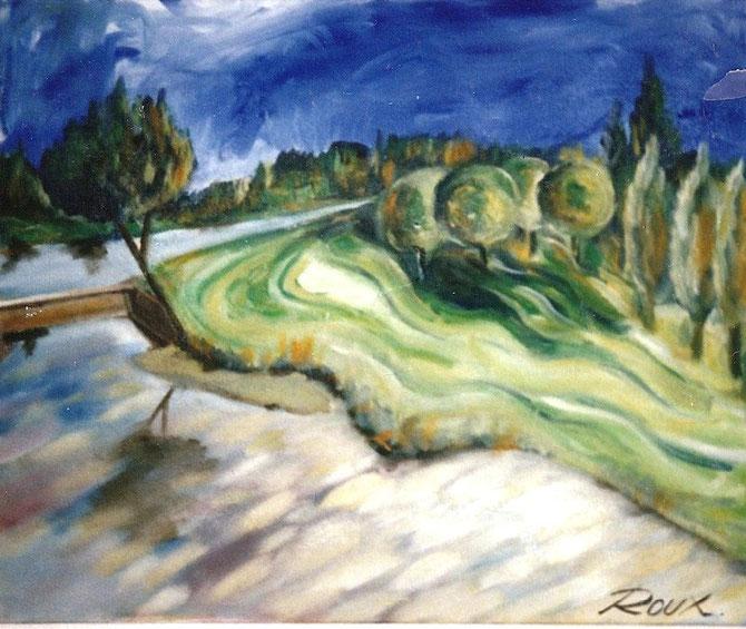 Moselle et son plan d'eau