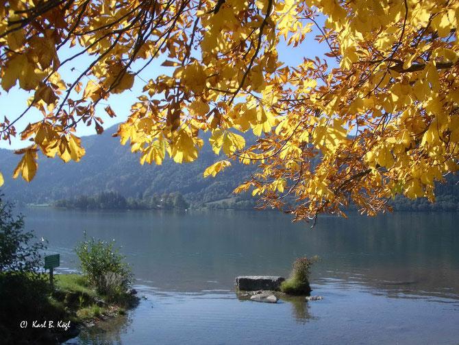 """Herbstln"" tuats am Schliersee"