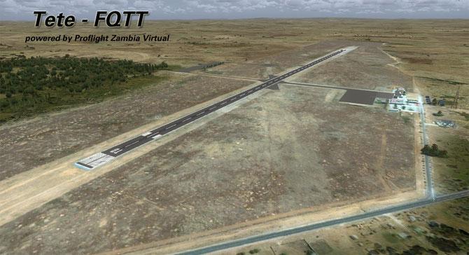 FQTT - Tete airport (Mozambique)