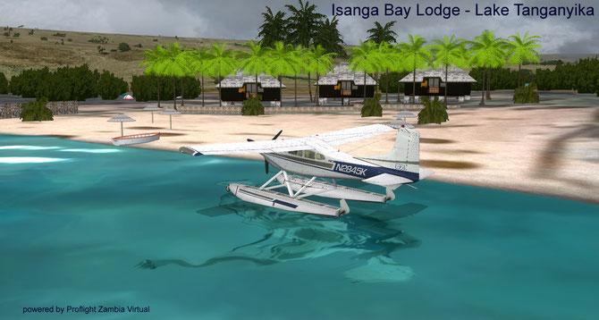 Isanga Bay Lodge - Lake Tanganyika