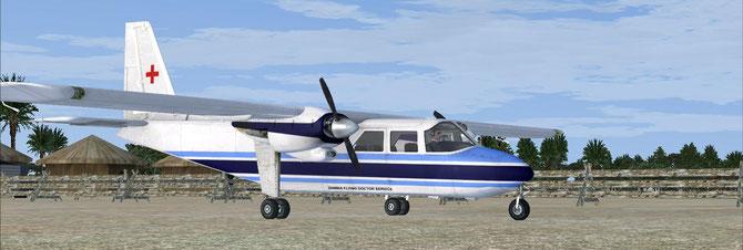 Zambia Flying Doctor Service Britten-Norman BN-2 Islander