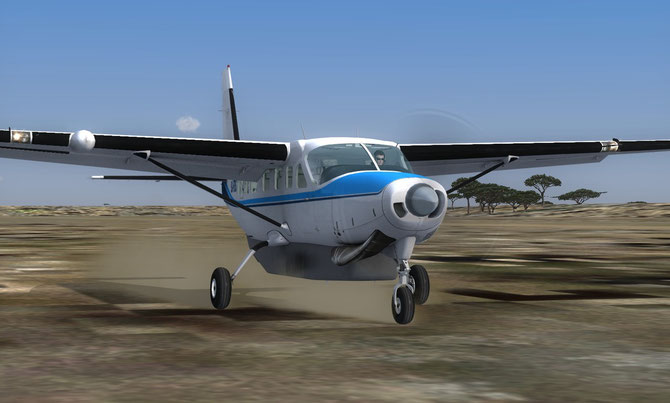 Zambia Flying Doctor Service repaint for Carenado's Cessna Grand Caravan 208B