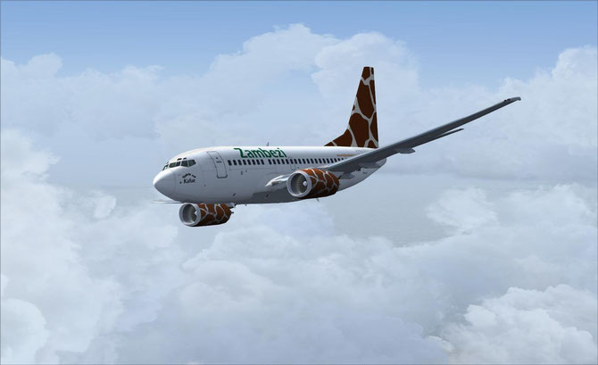 Poskys B737-600 Zambezi Airlines for FSX