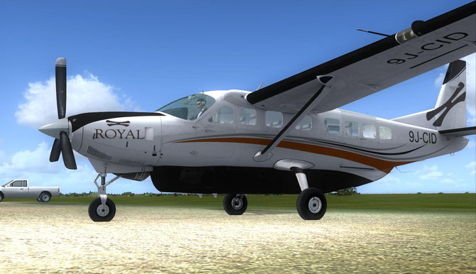 Royal Zambezi Carenado Cessan 208 Grand Caravan 9J-CID