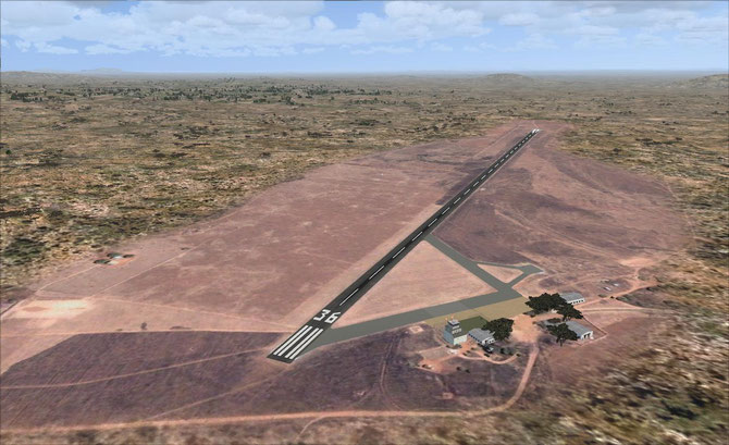 Photorealistic Chipata Airport (FLCP)