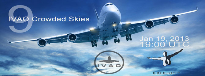 IVAO Crowder Skies Banner