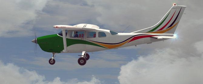 Fictional Livery for CARENADO's Cessna 206 Stationair