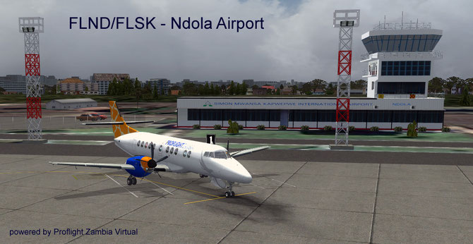 Ndola Airport - only for our active VA pilots