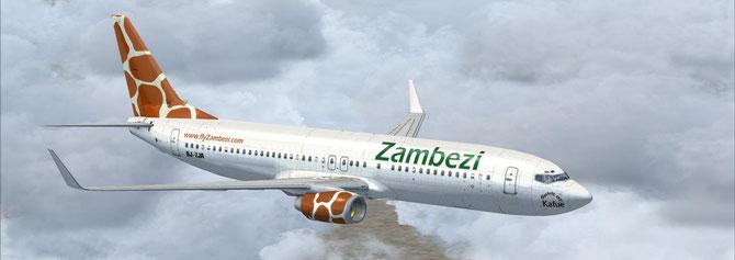 Zambezi Airlines Boeing 737-800